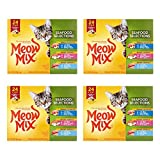 Meow Mix Savory Morsels Wet Cat Food - 4 Box of 24 Pack