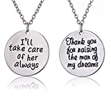 Best Lauhonmin Gifts For Fathers - 2pcs Thank You for Raising the Man