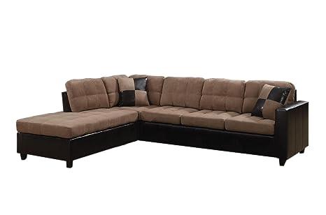 Amazon.com: Mallory Sectional - juego de sofá y ...