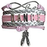 Dance Charm Bracelet -Perfect Dance Gift!!!  WHO LOVES DANCE?! Spread and Express your Pride for Dance with this charm bracelet. This listing is for one dance charm bracelet,5 inches in length. Absolutely adorable, you'll be in a hurry to sho...