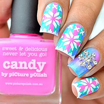 Amazon Christmas Sweater Stencils For Nails Christmas Nail