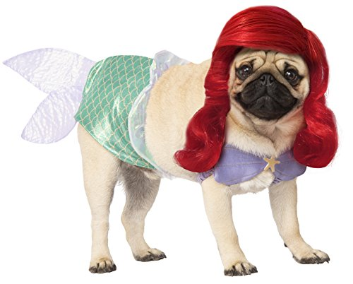 Rubie's Disney: Princess Pet Costume, Ariel, X-Large