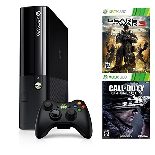 Microsoft Xbox 360 500GB with Gears of War 3 and Call, used for sale  Delivered anywhere in USA