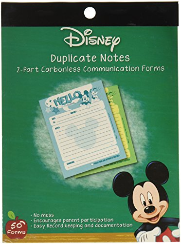 Eureka Mickey Hello Duplicate Notes Large (863202)