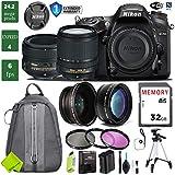 Nikon D7200 DSLR Camera 18-140mm VR Lens Bundle (18-140mm VR & Nikon 50mm f/1.8G, 1 Year Extended Warranty)