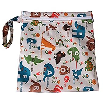 blue Laat Diaper Bag Baby Diaper Nappy Bag Waterproof Zip Bags - 165234XA0T5165 Blue