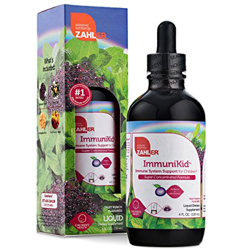 Zahler ImmuniKid, Liquid Immune Support Supplement for Children, Kids Immune Booster, Certified Kosher, 4oz