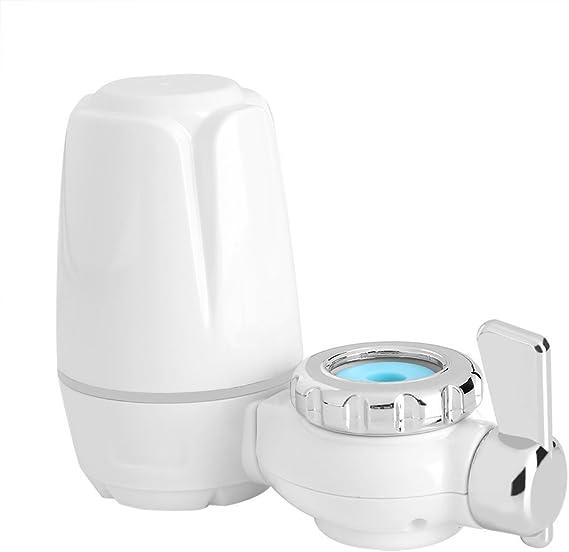 Filtro de Agua de Grifo Purificador de Filtro de Agua Montaje de Grifo para Cocina Hogar con Base de Cerámica ...
