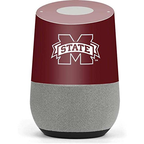 Mississippi State Google Home Skin - Mississippi State Logo Vinyl Decal Skin For Your Home by Skinit