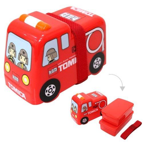 Lindo set fiambrera tartera 2 uds apilable camión bomberos rojo ...