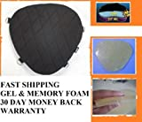 Motorcycle Gel Pad Driver Seat For Harley Davidson Electra Glide Ultra Limited