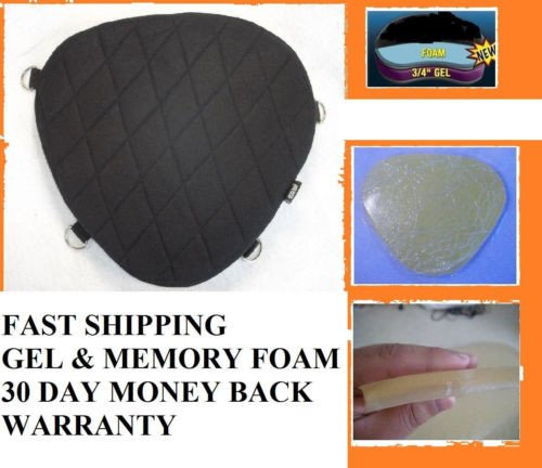 Motorcycle Gel Pad Seat Driver Pad For YAMAHA V Star 250 950 1300 /& Custom