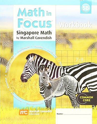 Math in Focus: Singapore Math: Student Workbook, Book B Grade 5
