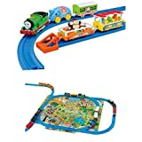 Plarail Percy and Zoo wagons set you clean up the play map set