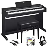 Yamaha YDP143B Traditional Console Digital Piano with Bench, Easy...