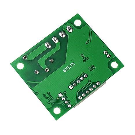 Ben-gi Controller termómetro -50 a 110 ° C Red W1209 Digital ...