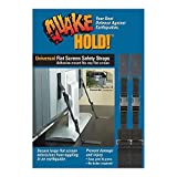QuakeHOLD! 4520 Universal Flat Screen Safety Straps by Quakehold!