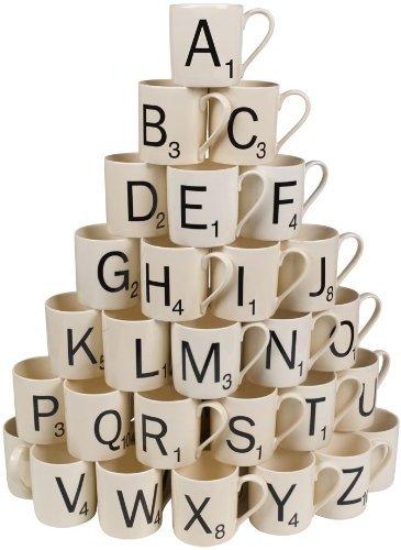Scrabble Mug - Letter E