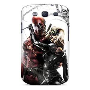 Bumper Hard Cell-phone Cases For Samsung Galaxy S3 (Hbx9122uSxf) Provide Private Custom High-definition Deadpool I4 Pictures