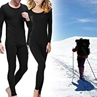 2pc Men's or Women's Gold Medal Thermal Base Layer Performance Set Shirt Pants