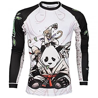 Tatami Fightwear Men's Gentle Panda Rash Guard White