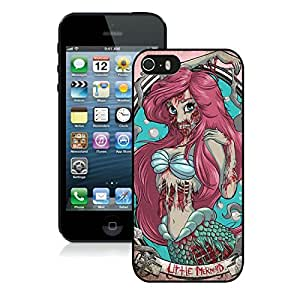 Fashionable Zombie Ariel The Little Mermaid iPhone 6 4.7th Generation Case in Black