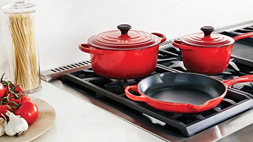 Le Creuset Cookware Set - 16 Piece - Cerise (Cherry Red)