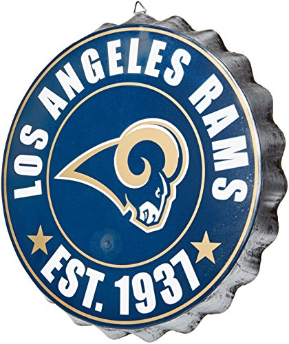 Los Angeles Rams 2016 Bottle Cap Wall Sign