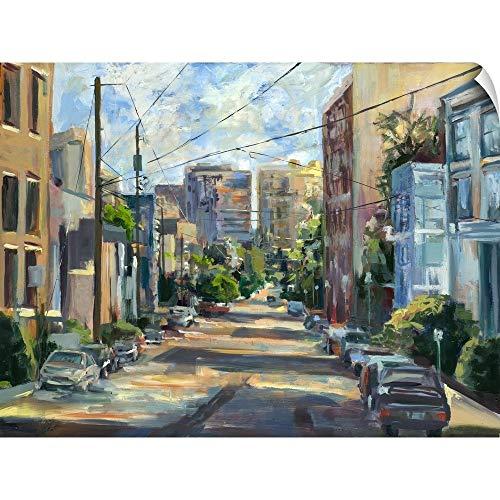 CANVAS ON DEMAND Belmont Street, Capital Hill Wall Peel Art Print, 60