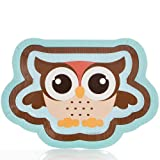 Owl - Look Whooo's Having A Baby - Baby Shower Dinner Plates - 8 Pack