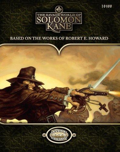The Savage World of Solomon Kane (Savage Worlds; S2P10400)
