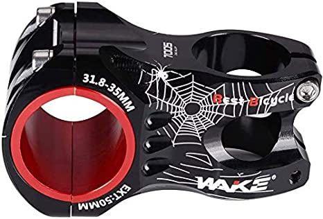 VGEBY Handlebar Stem Aluminium Alloy Hollow Bicycle Short Handlebar Stem Cycling Accessory for Mountain Bike BMX