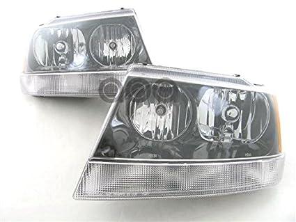 Amazon Com Jeep Grand Cherokee Laredo Sport 02 03 Head Light Pair
