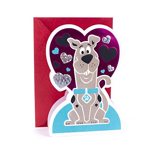Hallmark Valentine's Day Card for Kids (Scooby-Doo)