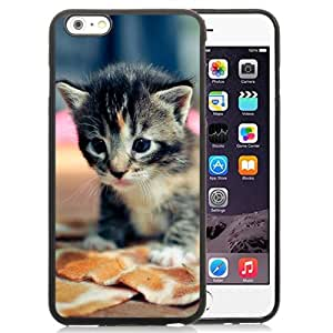New Personalized Custom Designed For iPhone 6 Plus 5.5 Inch Phone Case For Black Tabby Cat Kitten Phone Case Cover