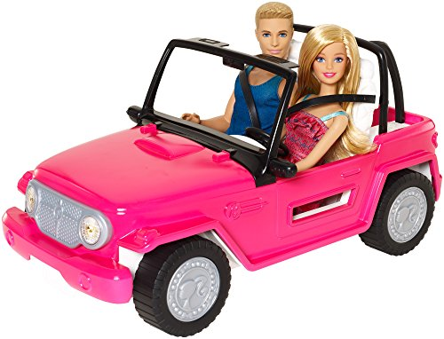 Barbie Car (Barbie Beach Cruiser and Ken Doll)
