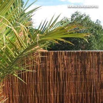 Cañizo de mimbre, oscuro Provence, 90 x 300 cm: Amazon.es: Jardín