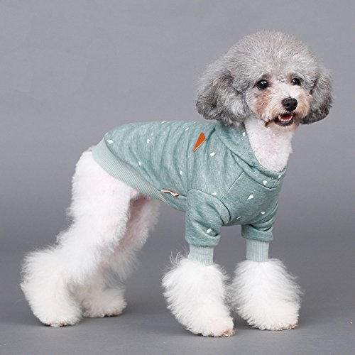 EastCities Pet Kitty Clothes Dog Hoodies for Small Dogs Cat,XS
