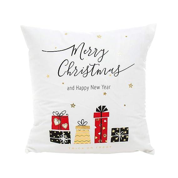 Fossrn Navidad Decoracion Fundas Cojines 45x45 Estrella ...
