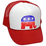 Best  - REPUBLICAN ELEPHANT - GRUNGE STYLE RETRO LOOK Review
