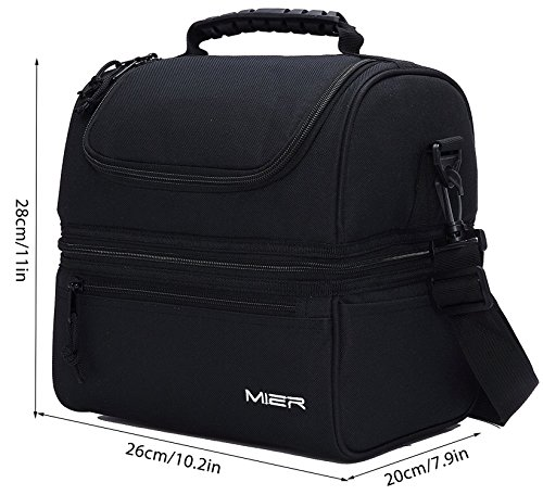 lunch boxes for adults mier lunch box insulated lunch bag large cooler tote 12982