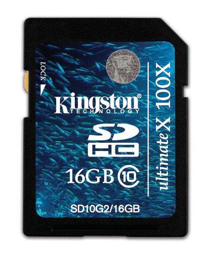 Kingston SD10G2 - Tarjeta de Memoria SecureDigital de 16 GB (Class ...