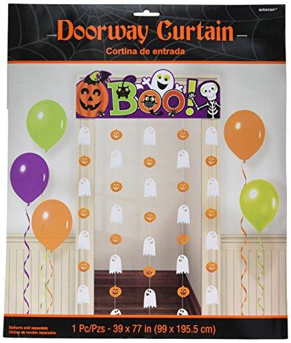 Amscan Halloween Cute Friendly Doorway Curtain -