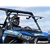 SuperATV Polaris RZR 900 / 1000 Scratch Resistant Flip Windshield (See details for fitment!)