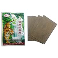 48pcs Pain Relief Chinese Herbal Plasters Anti-inflammatory Rheumatism Muscle Arthritis Patch(12 Pack)