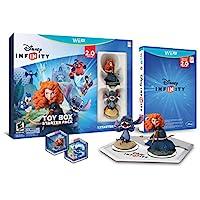 Disney INFINITY: Paquete de inicio de Toy Box (edición 2.0) - Wii U