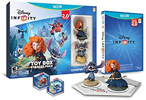 Disney INFINITY: Toy Box Starter Pack (2.0 Edition) - Wii U - Banded Box