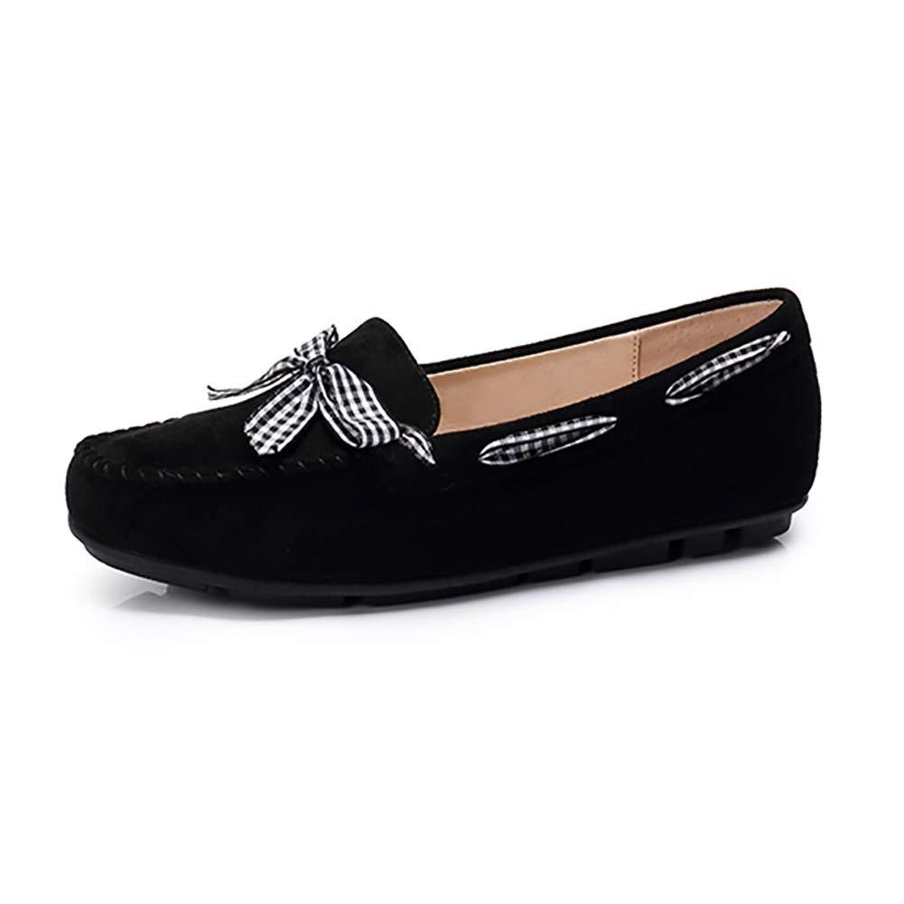 Frauen Frauen Frauen Mutterschaft Schuhe Flache Ferse Herbst Schuhe Freizeitschuhe Gentle Style Single Schuhe Peas Schuhe Weiblich (Farbe   SCHWARZ größe   40) 9688c3