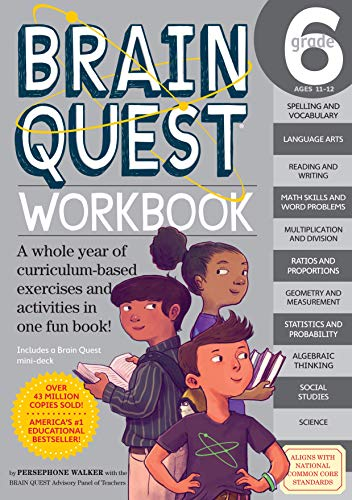 - Brain Quest Workbook: Grade 6