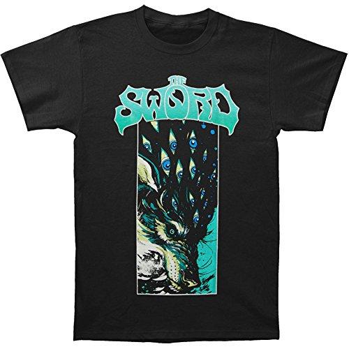 The Sword Men's Wolf T-Shirt Black